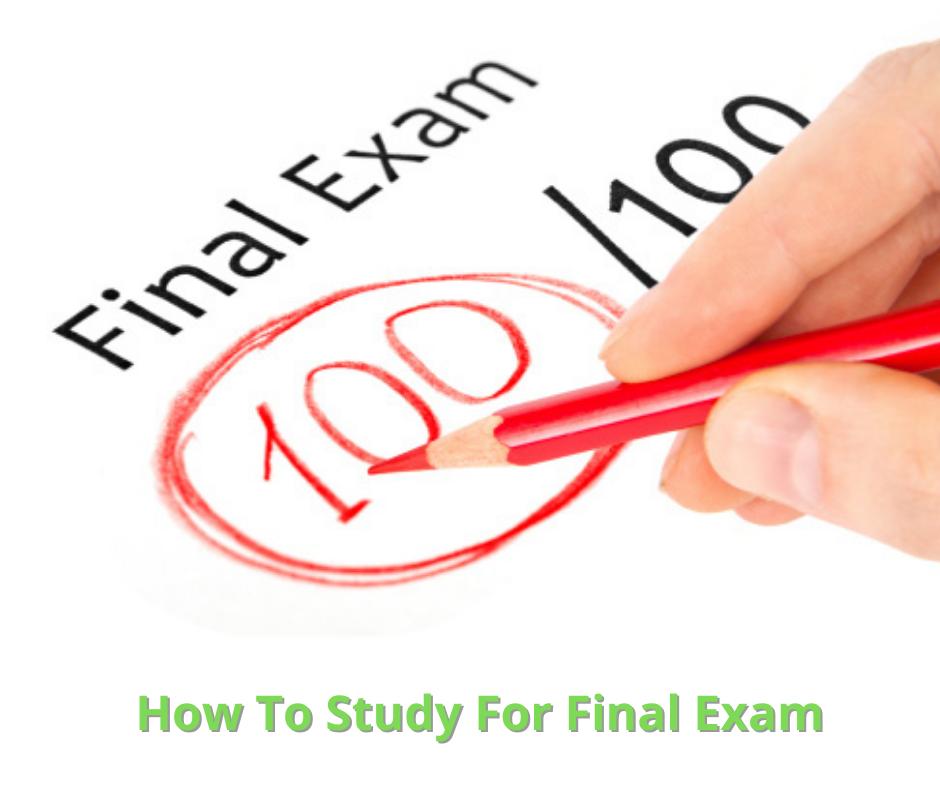 study for final exam